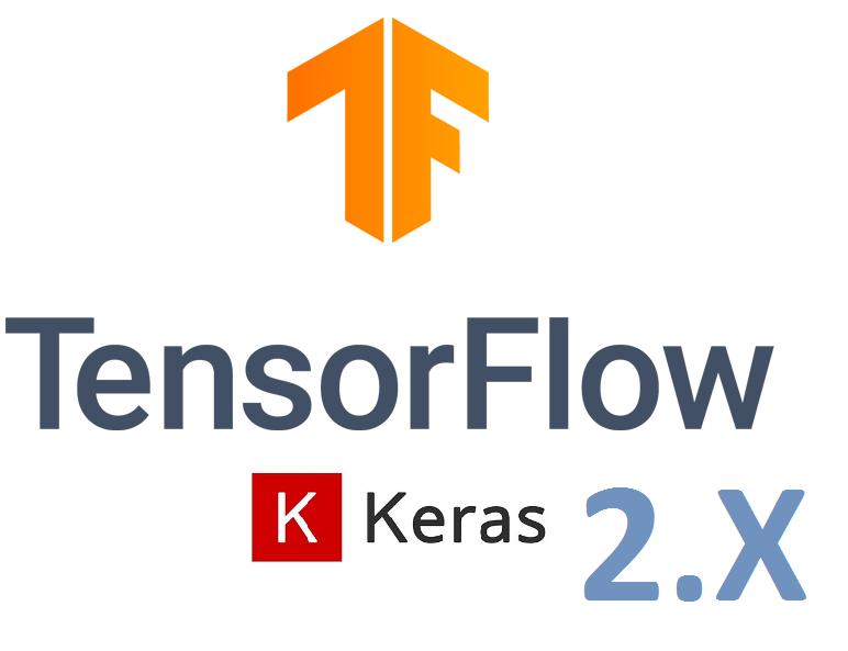 TensorFlow and Keras 2.3 Logo