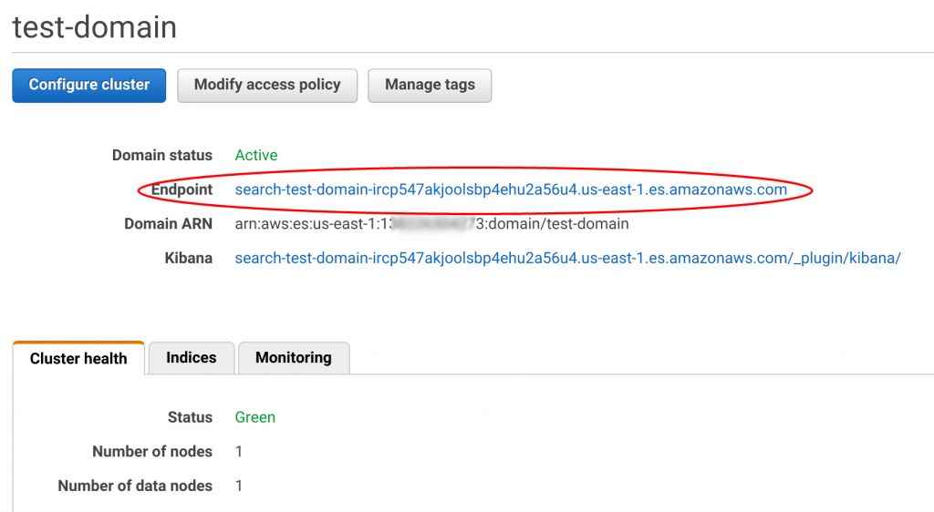 Part 1: Connect EC2 to the Amazon Elasticsearch Service